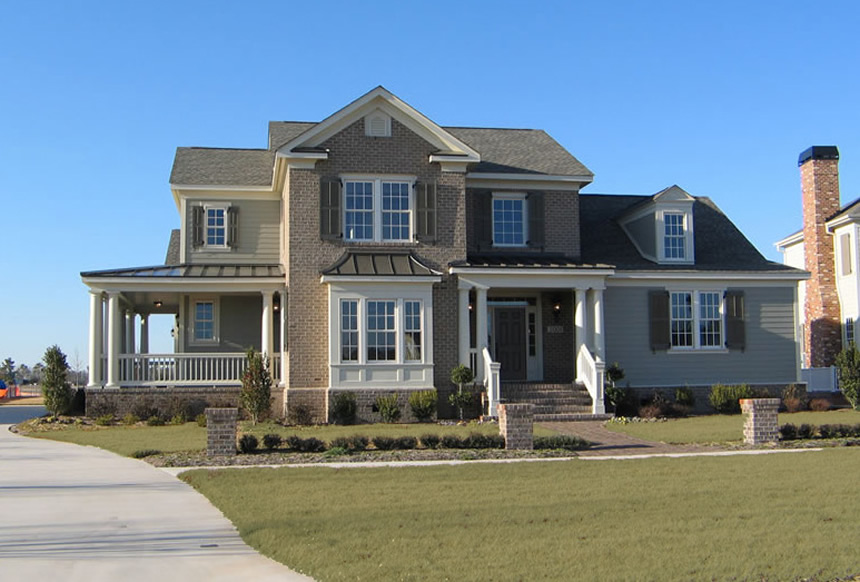 Ashville park custom homes in virginia beach for Custom beach house